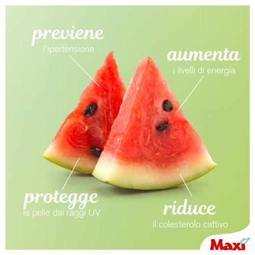 Con i primi caldi una fetta di anguria è l'ideale!