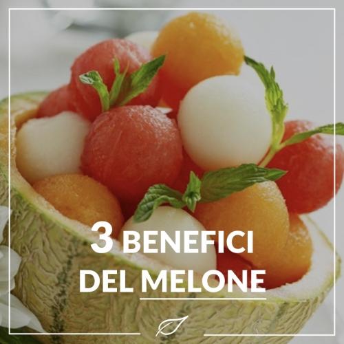 I benefici del melone
