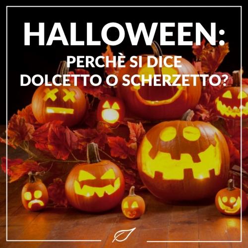 Halloween: perché si dice dolcetto o scherzetto?