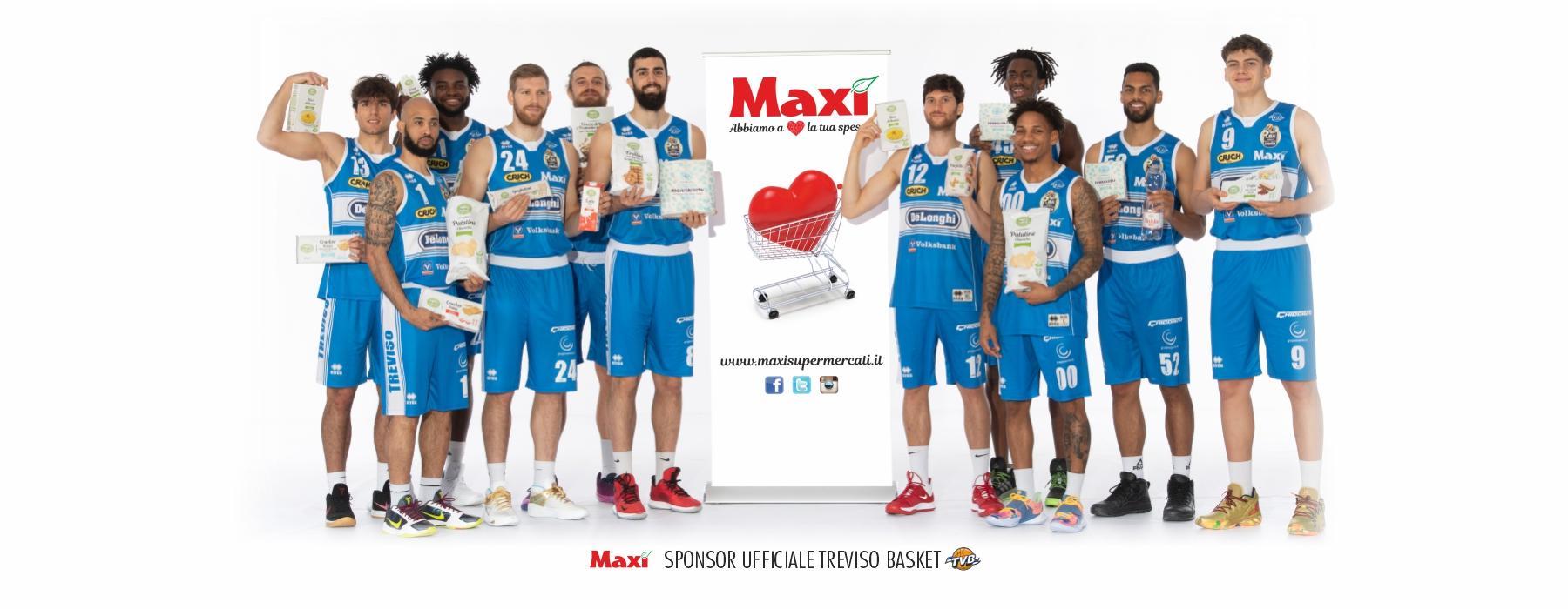 Maxì e Treviso Basket