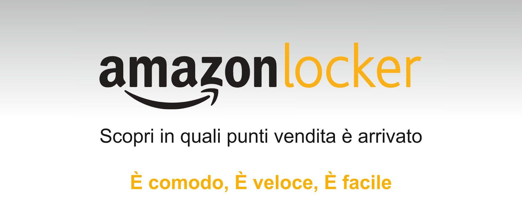 Amazon Locker nei Maxì